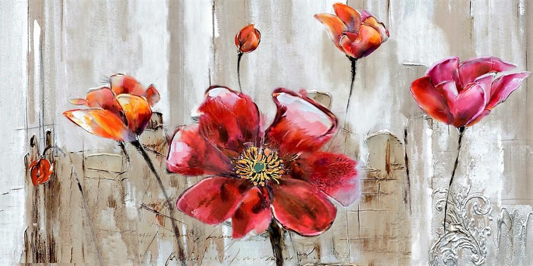 bloemenschilderij