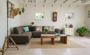 In een handomdraai een gezellige woonkamer