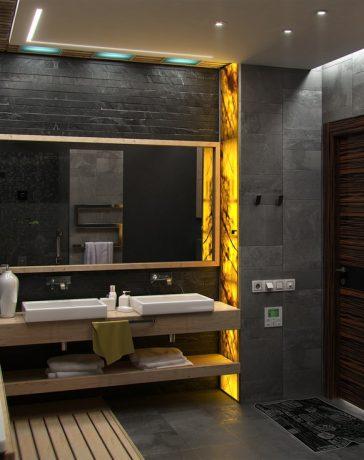 Lekker genieten van pure luxe in de badkamer