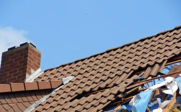stormschade dak