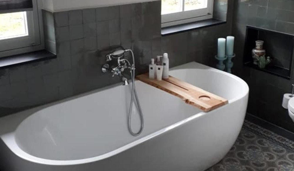 Marokkaanse zelliges badkamer