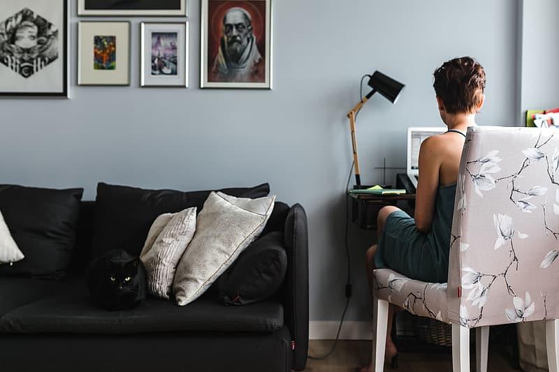 Voorkom dat je woonkamer verandert in een kantoor