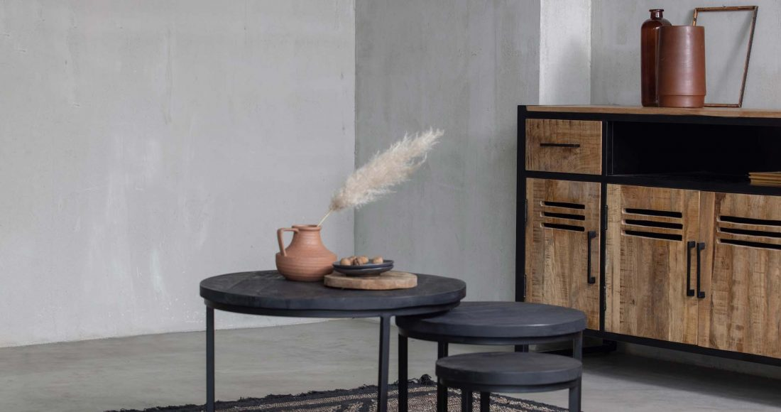 Boost je zithoek met een salontafel van mangohout