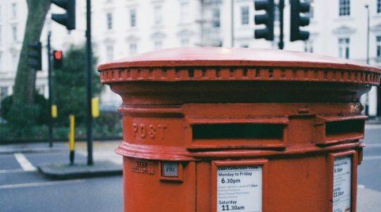 Posttarieven binnenland